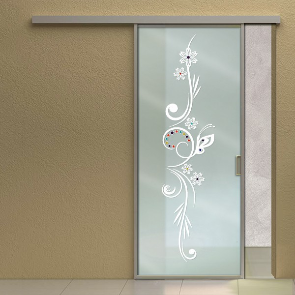 Porte scorrevoli mondial vetro - Decorazioni porte interne ...